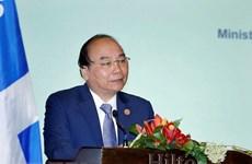 政府总理阮春福出席越加企业座谈会