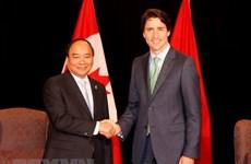 越南政府总理阮春福加拿大之旅为两国全面伙伴关系注入新的动力