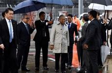 马来西亚总理对日本进行访问