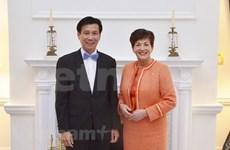 新西兰总督:越南在各多边组织中扮演重要的作用