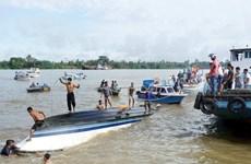 印尼木船翻覆事故造成 至少13人死亡