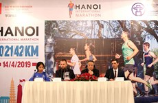 2019年河内国际马拉松赛推广河内形象