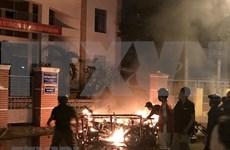 平顺省拘留12名参与聚众闹事、打砸公共财物和袭击公安干警的极端者