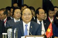越南政府总理阮春福出席第九届柬老缅越峰会(CLMV9)
