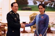 缅甸与中国承诺保持两国关系良好发展势头
