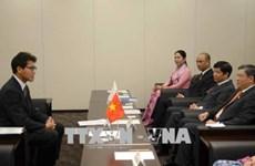 越南国会对外委员会主任阮文酉对日本进行工作访问