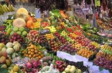 越南从泰国和中国的蔬果进口额达3.85亿美元