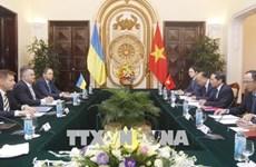 越南与乌克兰外交部举行副部长级政治磋商