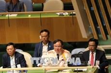越南警察积极参加联合国各项活动