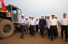 政府副总理郑廷勇主持会议 检查北南高速公路项目施工进度