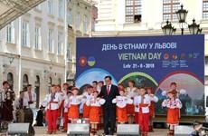 """""""利沃夫越南日""""活动给乌克兰友人留下深刻印象"""