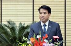 河内市高级代表团探访越南驻法国大使馆