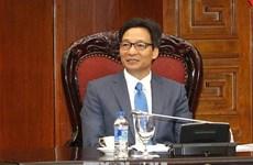 政府副总理武德儋会见联合国开发计划署署长阿奇姆·施泰纳