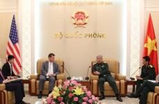 越南国防部副部长阮志咏上将会见美国防长助理兰德尔·施里弗