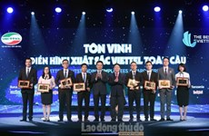 Viettel八个先进集体和八名先进个人获表彰