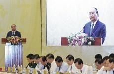 越南政府总理阮春福:决不能容忍不负责任的态度存在