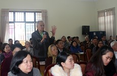 林同省选民就经济社会发展问题提出许多切实的建议