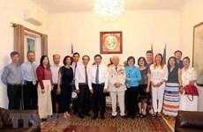 政府副总理范平明造访越南驻希腊大使馆