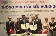 法国向越南分享智慧城市建设经验