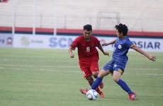 2018年东南亚U19足球锦标赛:越南队以5比0击败菲律宾队