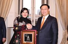 政府副总理王廷惠圆满结束对智利的正式访问