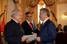 萨尔瓦多共和国总统高度评价与越南的全面合作关系