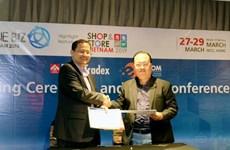 越南电子贸易协会与泰国励展展览公司签署合作协议