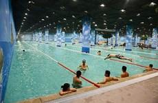夏季高温来袭  游泳是消暑解热的最佳方式