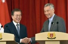 新加坡与韩国一致加强双边关系