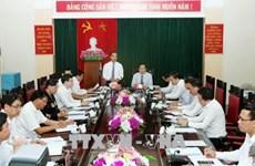越南祖国阵线中央委员会主席陈青敏赴宣光省调研