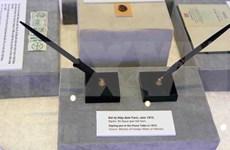 """""""巴黎会议—走向和平之路""""展览会展出了许多已解密的档案资料"""