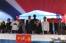 越通社社长率团访问多米尼加
