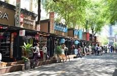 胡志明市图书街对读者的吸引力越来越大