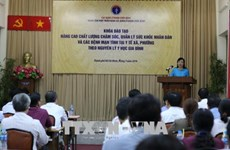 越南卫生部部长:贯彻落实8项基本措施提高基层医疗质量