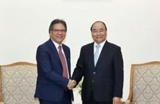 政府总理阮春福会见马来西亚首相署表现管理和传递单位总执行长