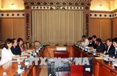 胡志明市与JICA积极协调配合确保ODA项目如期实施
