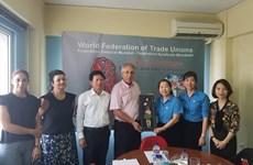 越南劳动联合会访问希腊