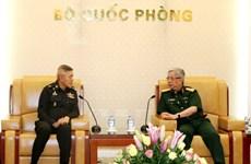 越南重视与泰国的防务合作关系