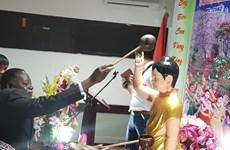旅居莫桑比克越南人举行佛历2562年佛诞大典