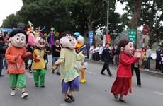 纪念首都河内行政区划扩大调整十周年的街头狂欢节将于本月底举行