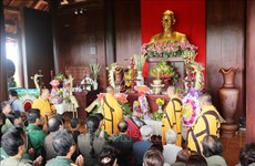 胡志明市青年冲锋烈士超度法会在西宁省举行