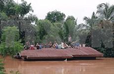 老挝水电站大坝坍塌:老挝总理通伦·西苏里赴现场监督救援