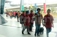 42名遭印尼扣留的越南渔民获释