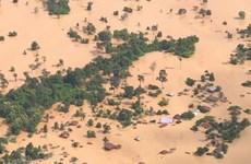 陈清敏就老挝一水电大坝坍塌向老方致慰问电