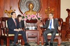 韩国乐天集团希望参与胡志明市各投资项目