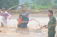 柬埔寨首相致信慰问越南北部地区各省灾民