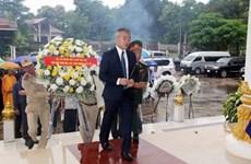 越南伤残军人与烈士日71周年纪念活动在老挝和柬埔寨举行