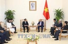 越南政府总理会见日本-湄公河议员联盟主席