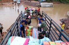 越南继续向老挝水电站大坝坍塌事故受灾群众提供援助