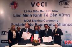 胡志明市与美国洛杉矶成立可持续经济联盟